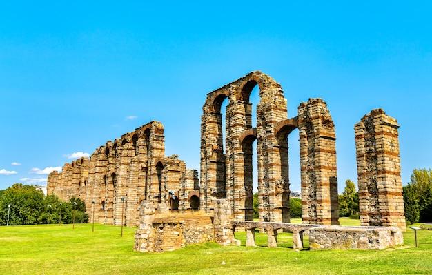 L'acueducto de los milagros a merida in spagna