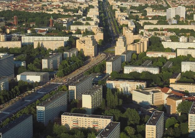 Veduta aerea di berlino