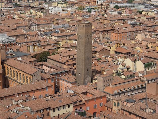 Veduta aerea di bologna