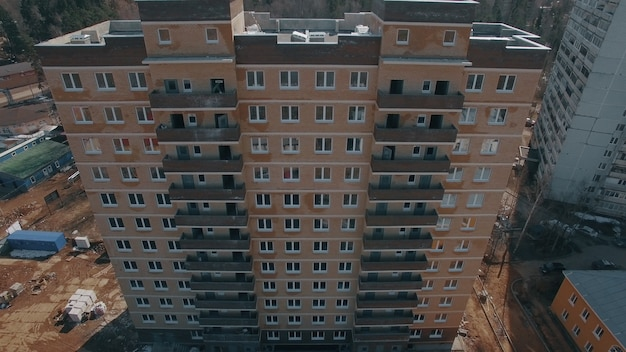Vista aerea del nuovo condominio costruito nei sobborghi russia