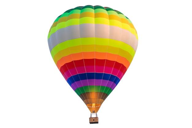 Aerostato isolato su uno sfondo bianco. palloncino.