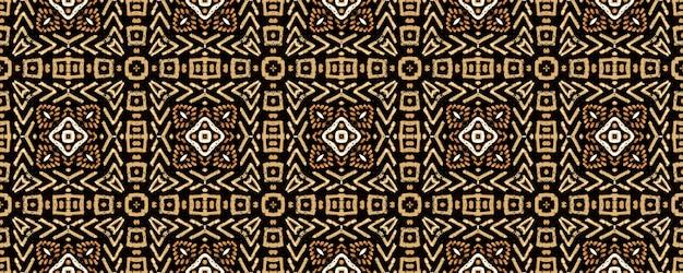 Disegno di arte africana. stile olandese senza fine. ricci infiniti design. stile hipster beige marrone chiaro. batik infinite texture. disegno di arte africana.