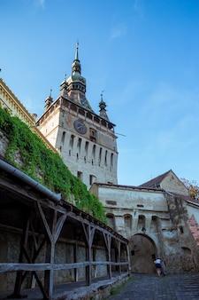 Cittadella dell'età, situata nella regione storica della transilvania, costruita dai sassoni della transilvania