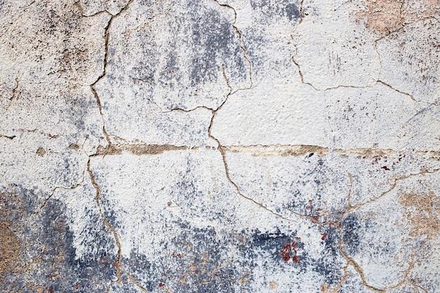 Fondo in cemento invecchiato con crepe e graffi