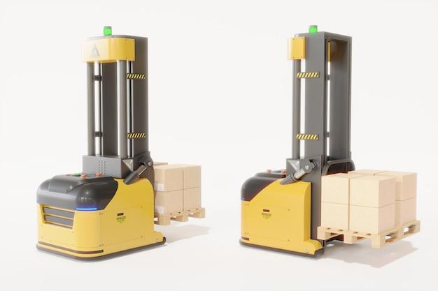 I carrelli elevatori agv trasportano di più con sicurezza.