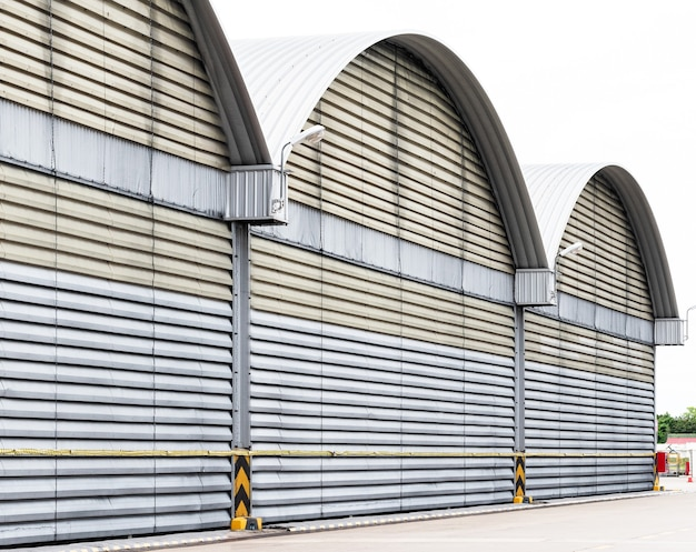 Parete del condotto dell'aria e struttura grande centro di distribuzione