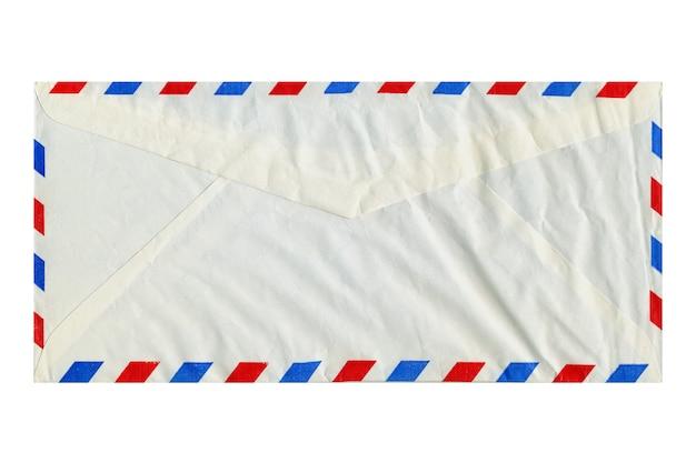Busta della lettera di posta aerea isolata