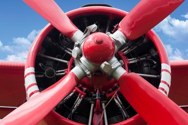 Motore ad elica dell'aeroplano