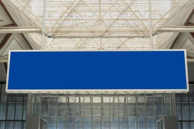 Schermata delle informazioni della stazione dell'aeroporto