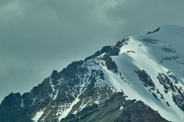 Valle di alay, vetta dei monti lenin pamir