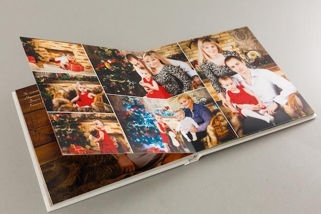 Album con foto di viaggio e vintage, fotolibro