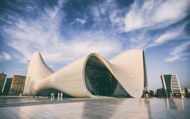 Museo aliev a baku, città dell'azerbaigian