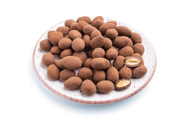 Mandorle in confetti al cioccolato