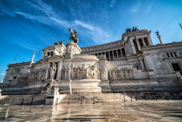 L'altare della patria a roma, italia