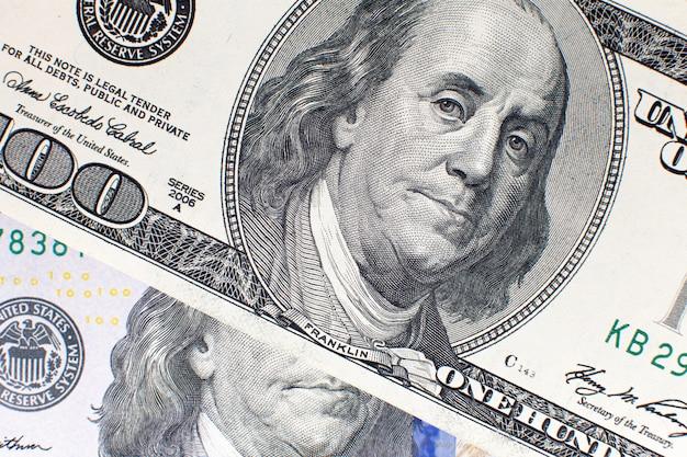 Dollaro americano sfondo usd