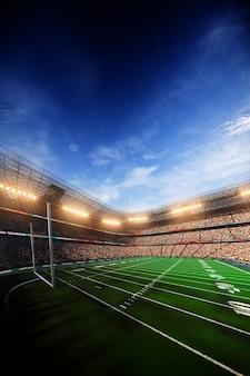 Stadio di calcio di football americano