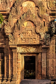 Castello antico in cambogia, angkor thom
