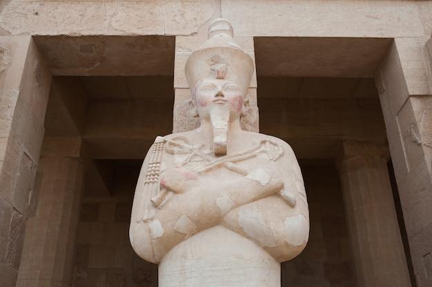 Antico tempio egizio complesso luxor
