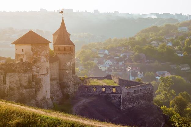 Antica fortezza. paesaggio