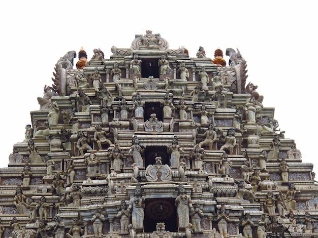 L'antico tempio indù in sri lanka