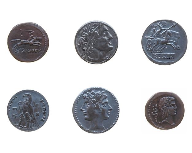 Antiche monete romane e greche