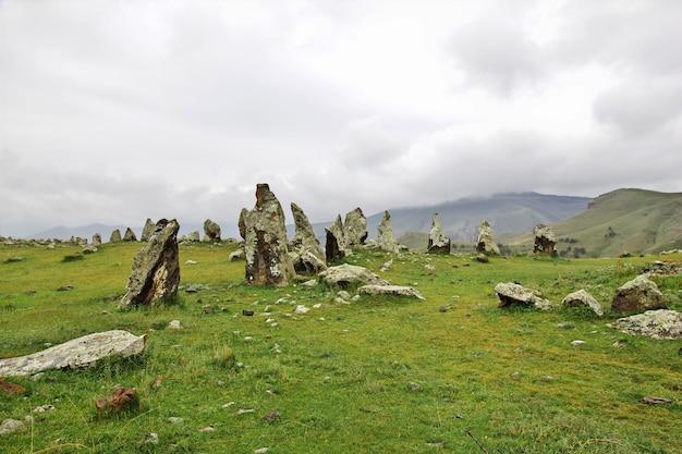 Antiche rovine in armenia