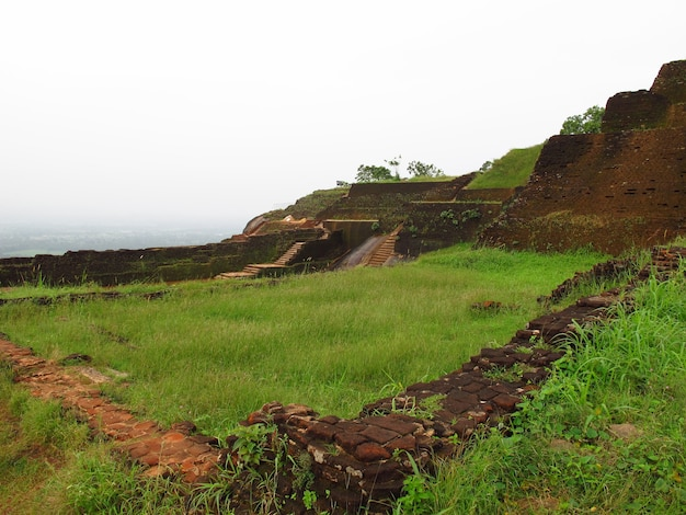 Antiche rovine di sigiriya, sri lanka