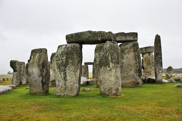 L'antico tempio di stonehenge, inghilterra, regno unito