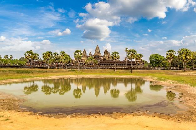 Tempio di angkor wat in cambogia