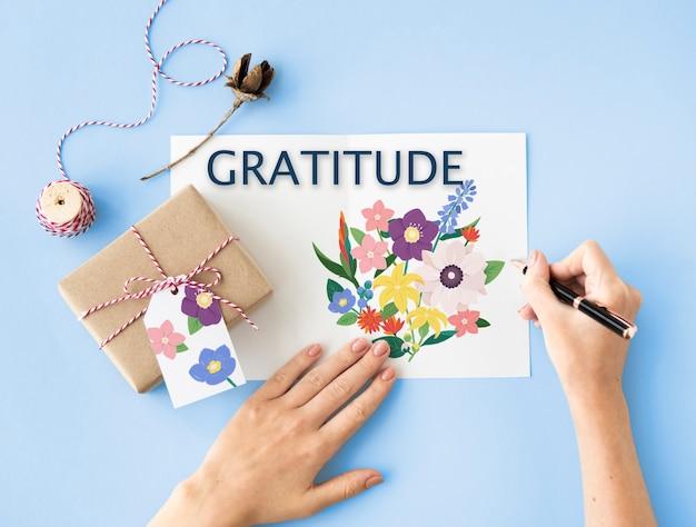 Anniversario gratitudine onorato grato beato