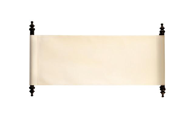 Antico segno in bianco in stile tailandese su sfondo bianco.