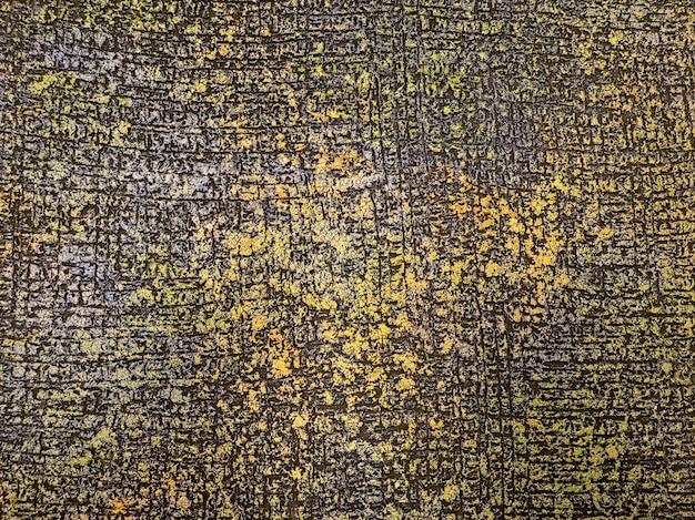 Fondo in metallo bronzo antico. cemento colorato antico. fondo dell'intonaco. Foto Premium