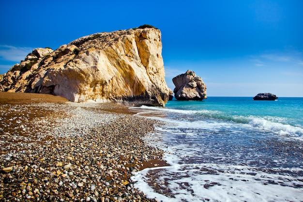 Il leggendario luogo di nascita di afrodite a paphos, cipro