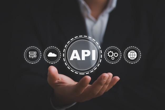 Api application programming interface concetto di tecnologia di sviluppo