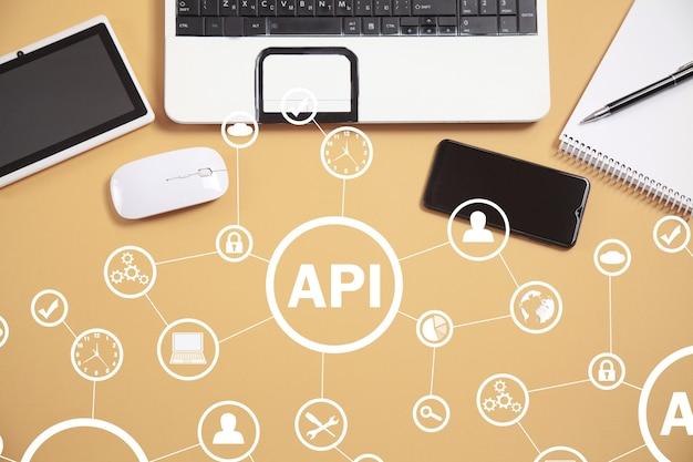 Api. interfaccia di programmazione applicazioni. sviluppo software. tecnologia