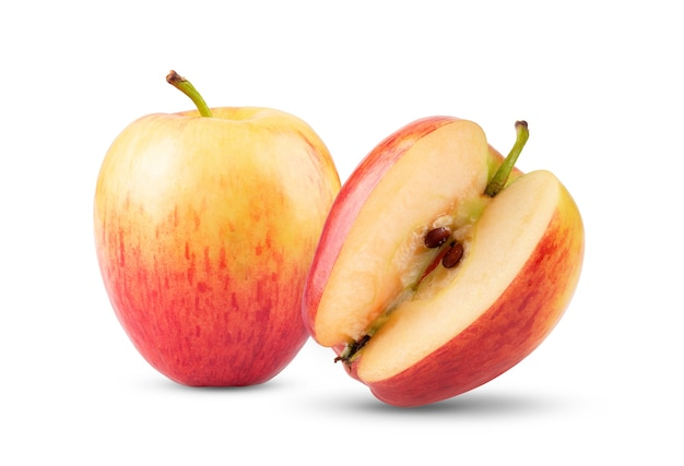 Apple isolato su sfondo bianco
