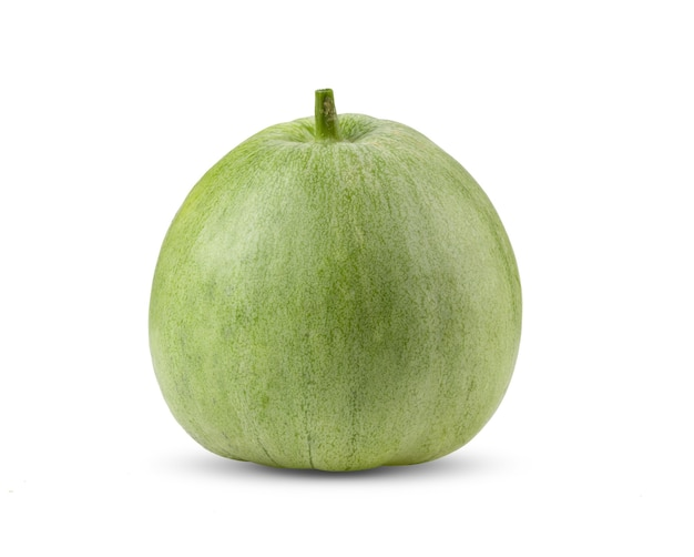 Melone apple isolato su bianco