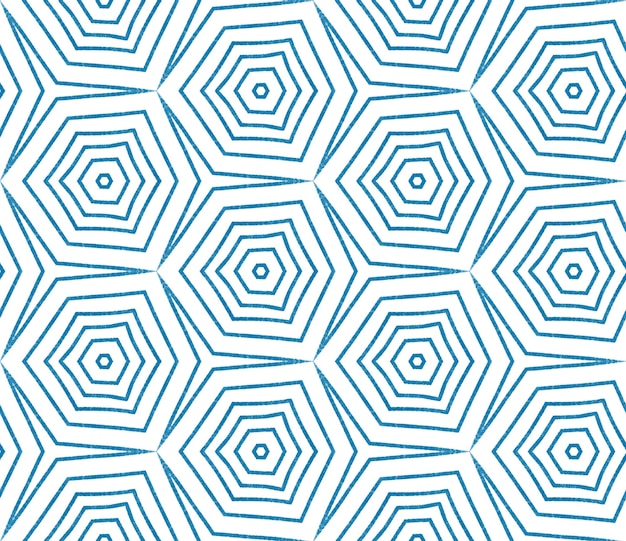 Motivo arabesco disegnato a mano. fondo simmetrico blu del caleidoscopio. disegno disegnato a mano arabesco orientale. stampa preziosa tessile pronta, tessuto per costumi da bagno, carta da parati, avvolgimento.