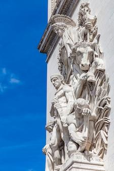 Arc de triomphe a parigi