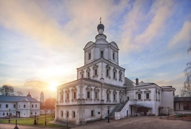 Chiesa dell'arcangelo nel monastero di andronikov a mosca