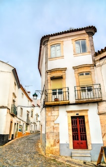 Architettura di estremoz in portogallo