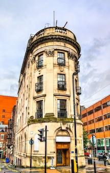Architettura di manchester nel nord ovest dell'inghilterra