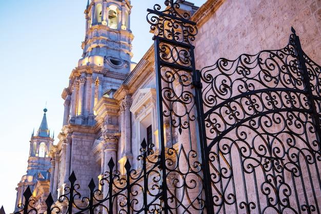 Città di arequipa in perù, sud america
