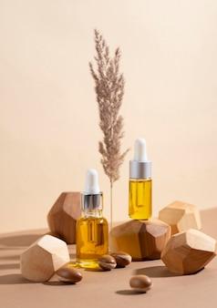 Olio di argan in flacone contagocce