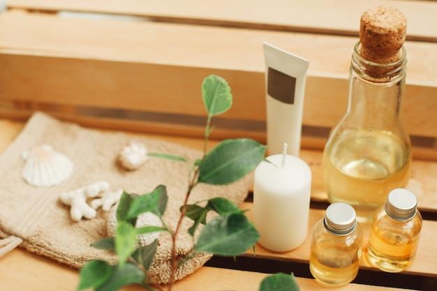 Aromaterapia impostato al primo piano del salone della stazione termale