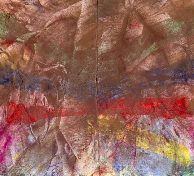 Struttura o fondo della carta dell'acquerello del grunge astratto di arte.