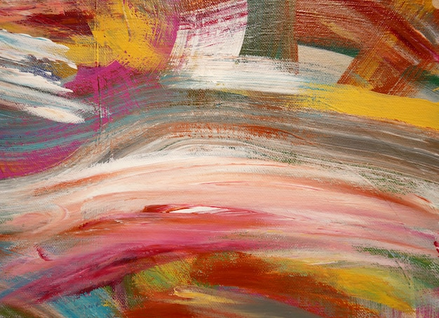 La pittura artistica di colori luminosi del fondo di arte spruzza.