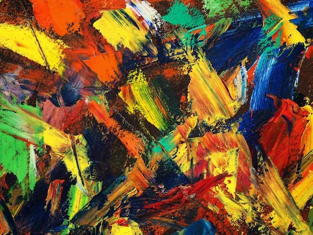 Pittura artistica su tela sfondo astratto con texture with