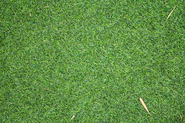 La struttura artificiale dell'erba verde può essere utilizzata come sfondo