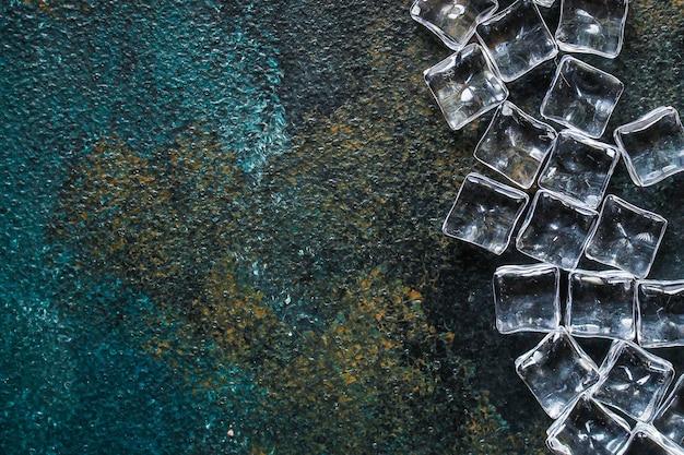 Pezzi acrilici trasparenti di ghiaccio artificiale non molto freddi